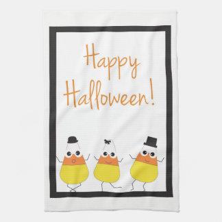 Feliz Halloween de la toalla el | de Halloween con