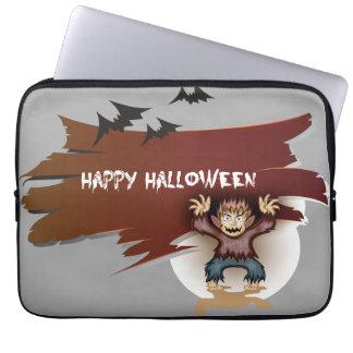 Feliz Halloween del zombi Funda Para Ordenador