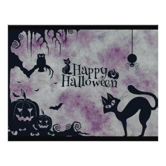 Feliz Halloween Flyer
