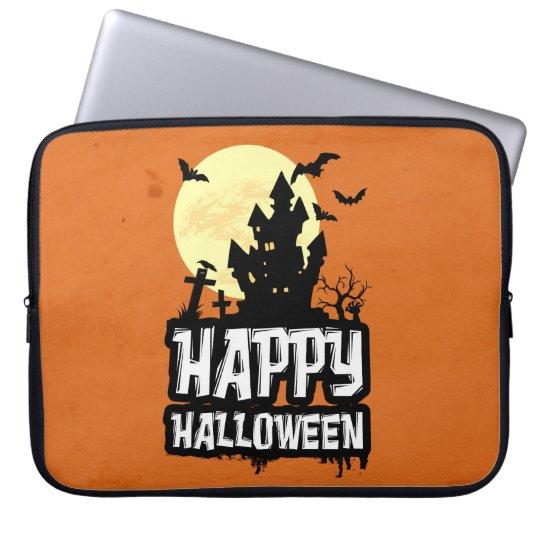 Feliz Halloween Funda Para Portátil