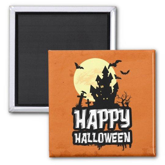 Feliz Halloween Imán