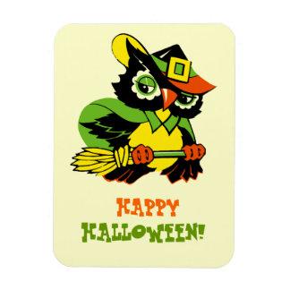 ¡Feliz Halloween! Imán del regalo del diseño del v