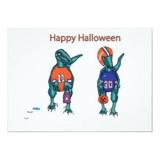 feliz Halloween Invitación 12,7 X 17,8 Cm
