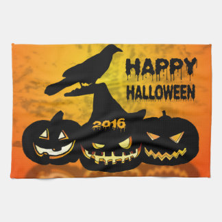 Feliz Halloween Paño De Cocina