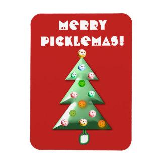 Feliz imán del día de fiesta de Picklemas