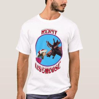 Feliz Kissmoose Camiseta