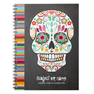 Feliz Muertos - cuaderno del personalizado del