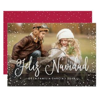 Feliz Navidad el | Tarjeta de Navidad Invitación 12,7 X 17,8 Cm