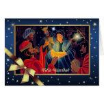 Feliz Navidad. Tarjeta de felicitación adaptable