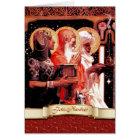Feliz Navidad. Tarjeta de felicitación española