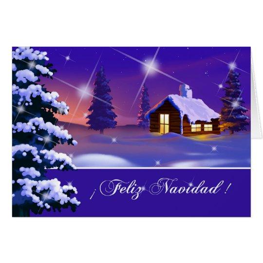 Feliz Navidad. Tarjeta de Navidad adaptable