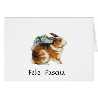 Feliz Pascua, Pascua feliz en español Tarjeta De Felicitación
