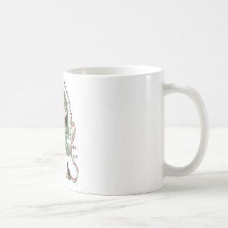 Feliz taza arrogante del navidad