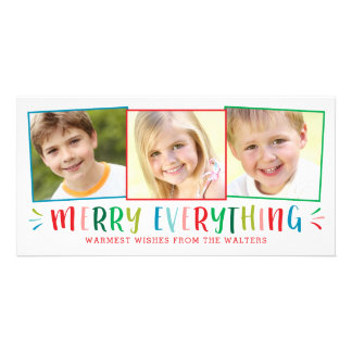 Feliz todo tarjeta Editable del día de fiesta del