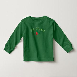 Feliz verde Navidad Camiseta De Bebé