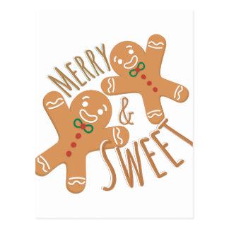 Feliz y dulce postal