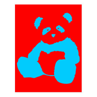 felpa de la panda postal