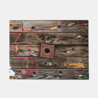 Felpudo Carrete industrial de madera del alambre