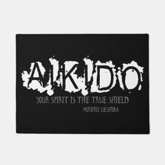Felpudo Cita del Aikido