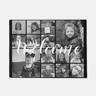 Felpudo Collage de la foto de Instagram - hasta 14 fotos