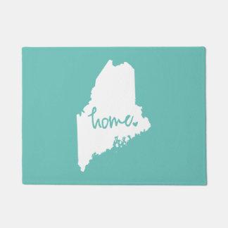 Felpudo Color casero del personalizado de Maine