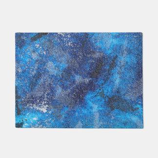 Felpudo Cosmos azul #1