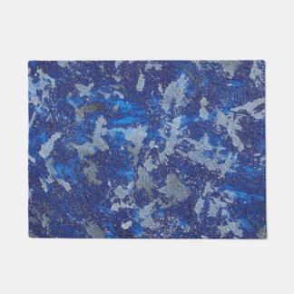 Felpudo Cosmos azul #3