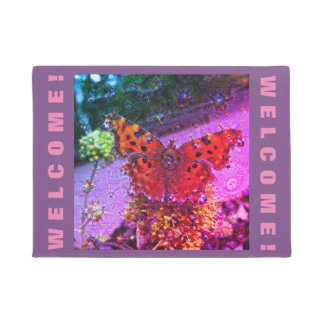 Felpudo Criaturas ideales, mariposa, DeepDream 2,2