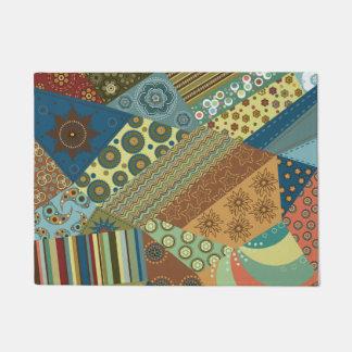 Felpudo Diseño elegante colorido del edredón de BoHo