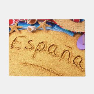 Felpudo Doormat de la playa de España España