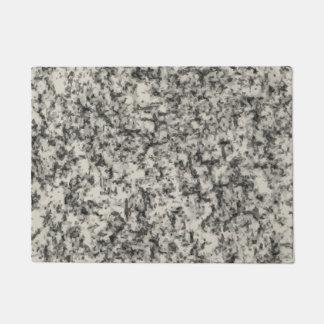 Felpudo doormat del printe de la textura del mármol del