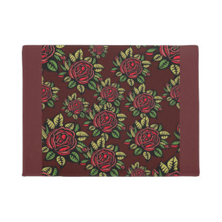 Felpudo Doormat ilustrado flor