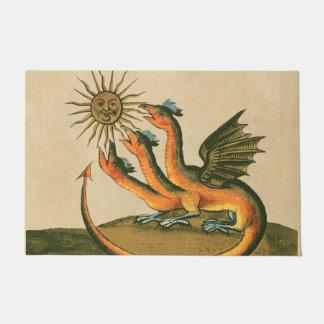 Felpudo Dragones de Clavis Artis