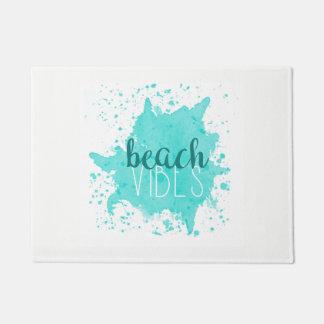 Felpudo Estera de puerta de la sensación de la playa