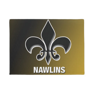 Felpudo Estera de puerta de Nawlins