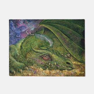 Felpudo Estera de puerta del dragón