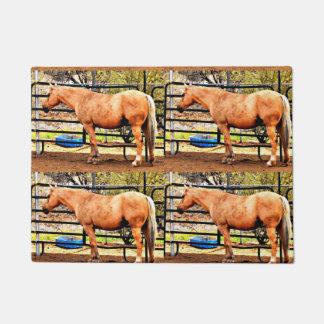 Felpudo Estera de puerta del hogar del caballo del