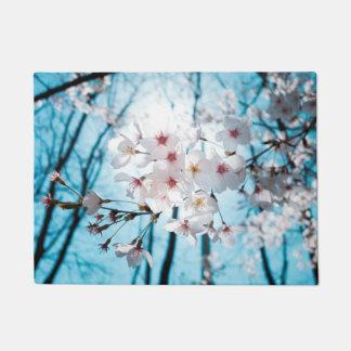 Felpudo Flor de cerezo del japonés de Asia