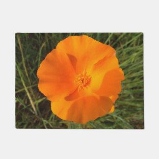 Felpudo Flor de la amapola de California. californica del