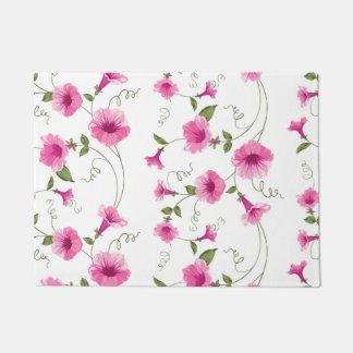 Felpudo Flores rosadas