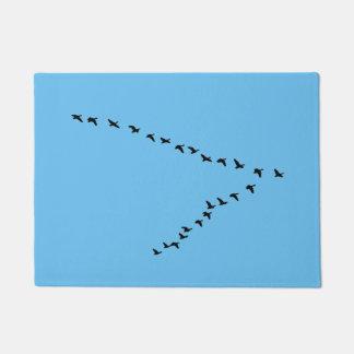 """Felpudo Formación de los gansos """"V"""" del vuelo"""