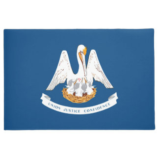 Felpudo Gráfico dinámico de la bandera del estado de