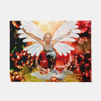 Felpudo Hada maravillosa con el cisne