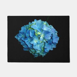 Felpudo Hydrangea azul