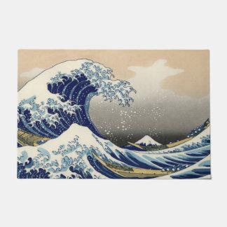 Felpudo La gran onda de Kanagawa