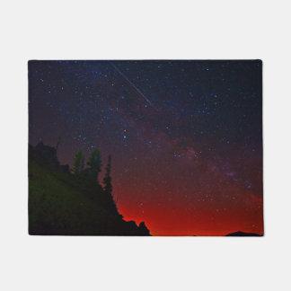 Felpudo Montañas - cielo nocturno - estrellas