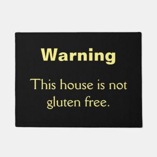 Felpudo No el gluten libera