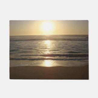 Felpudo Puesta del sol de la playa