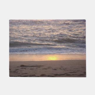 Felpudo Puesta del sol del océano