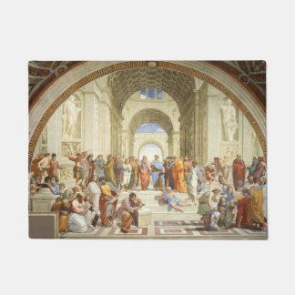 Felpudo Raphael - La escuela de Atenas 1511